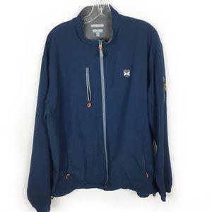 Peter Millar Element 4 Zip Windbreaker Jacket XL